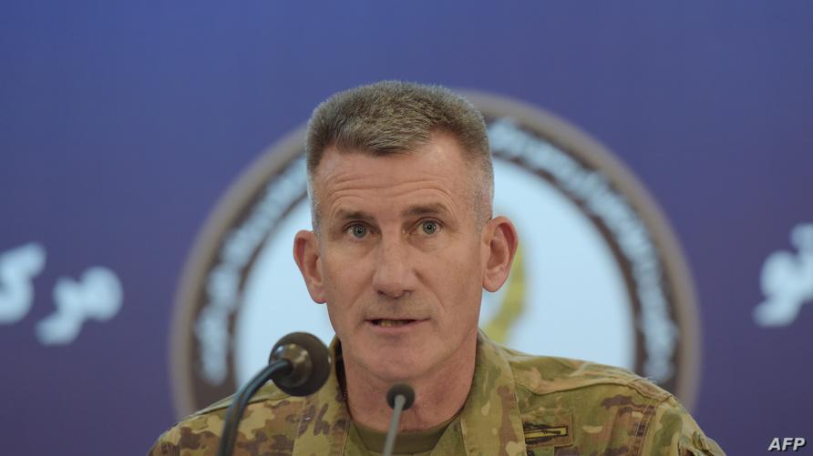 قائد القوات الأميركية في أفغانستان الجنرال جون نيكولسون