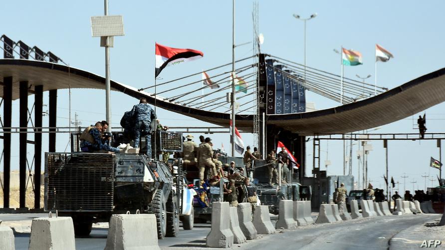 القوات العراقية تدخل مطار كركوك العسكري