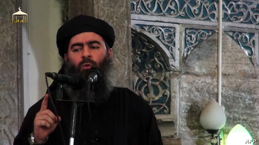 """زعيم تنظيم """"داعش"""" أبو بكر البغدادي"""