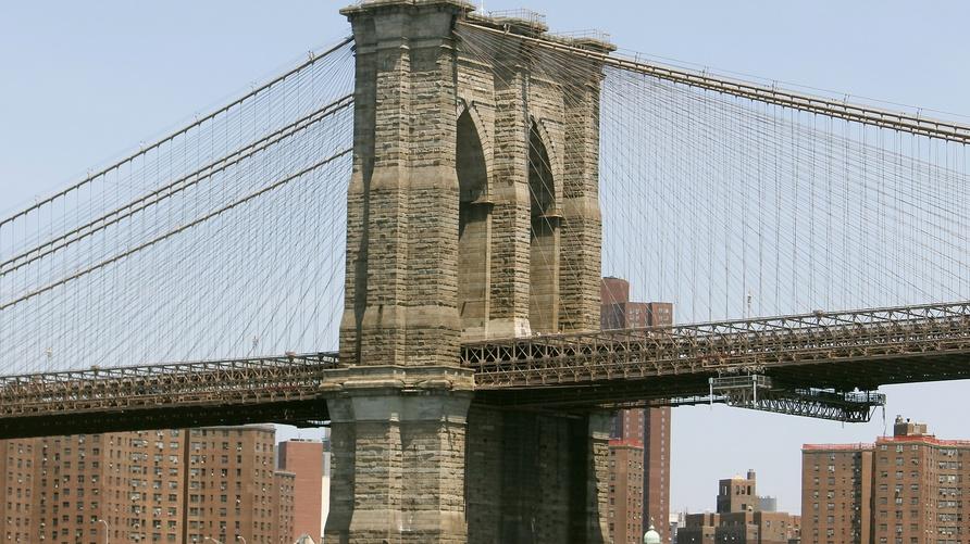 جسر بروكلين في نيويورك/ علي عبد الأمير