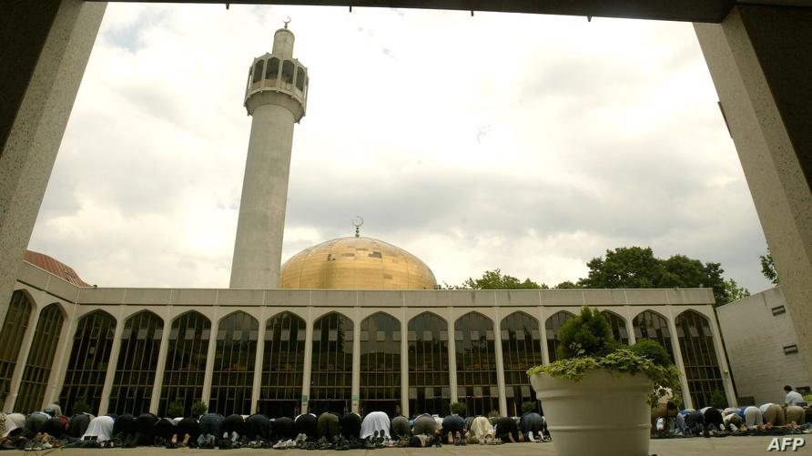 جانب من مسجد سنترال لندن- ارشيف