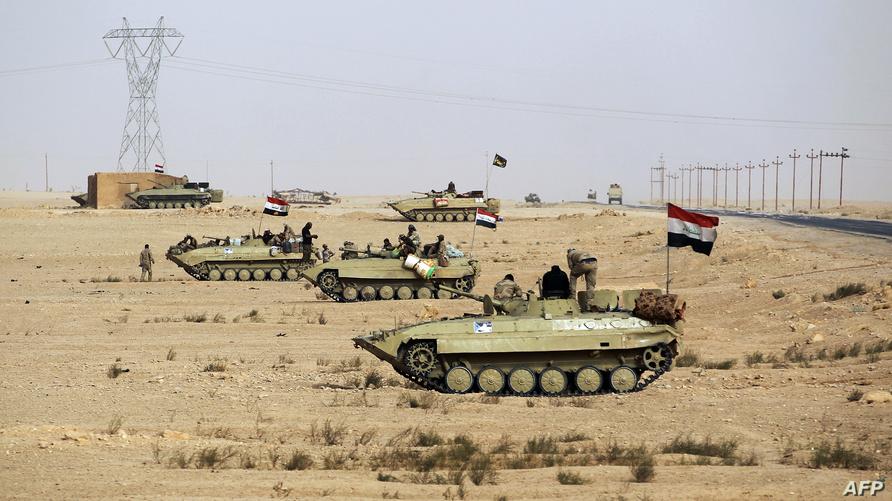 قوات عراقية تتقدم باتجاه القائم/ وكالة الصحافة الفرنسية