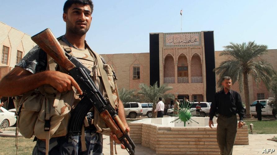 مبنى محافظة ميسان /وكالة الصحافة الفرنسية