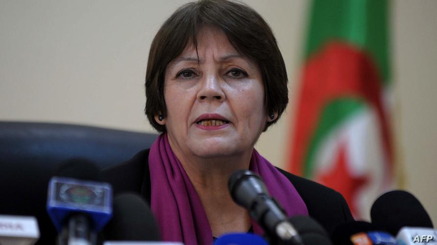 وزيرة التربية الوطنية في الجزائر نورية بن غبريط