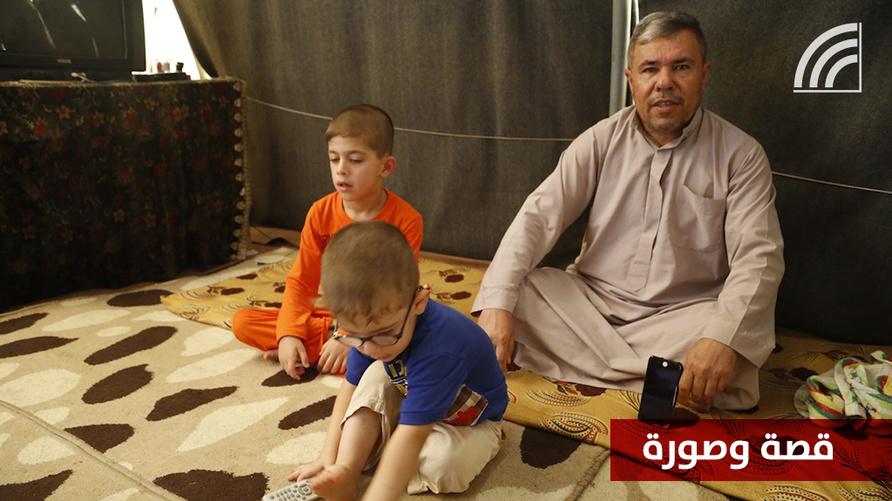 نوار محمد وأطفاله