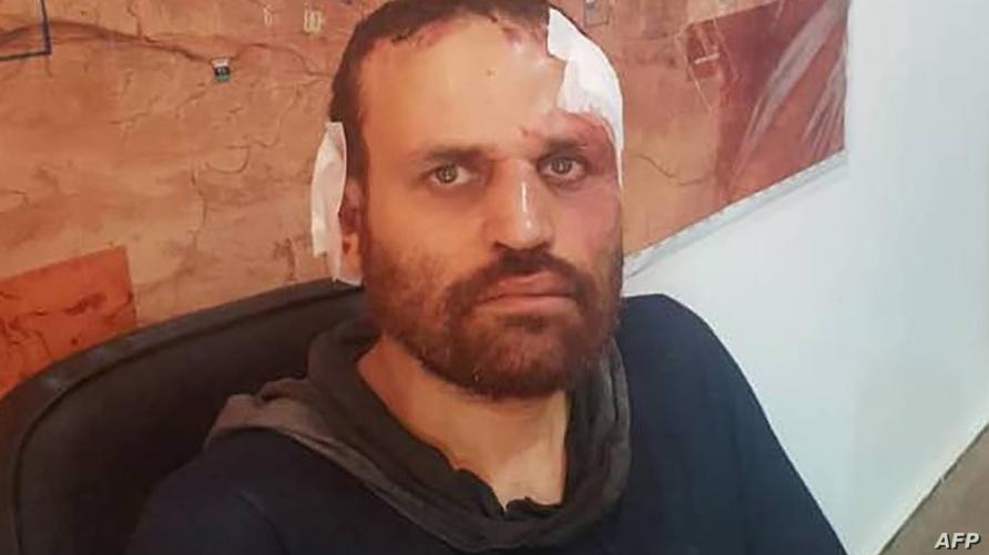 الإرهابي المطلوب هشام عشماوي في صورة نشرتها القوات المسلحة الليبية عند إلقائها القبض عليه في أكتوبر 2018