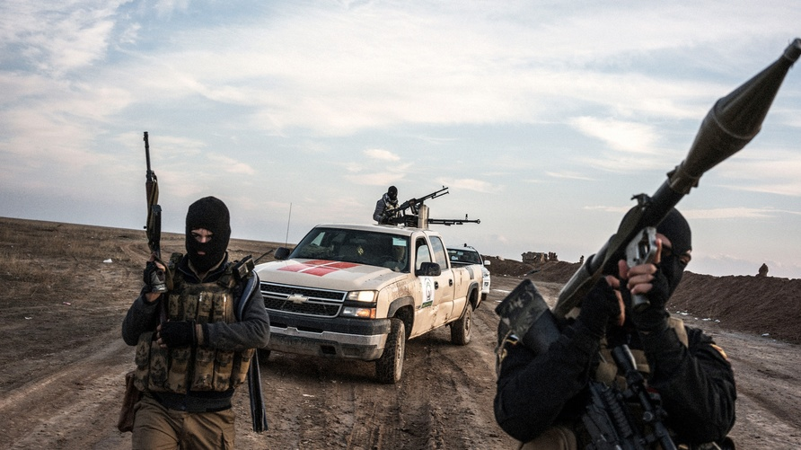 ميليشيات سنية معارضة لتنظيم داعش/ المصدر: موقع The Intercept