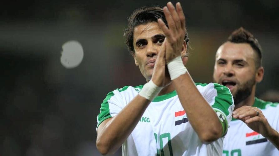 لاعب كرة القدم في المنتخب العراقي علاء عبدالزهرة/ فيسبوك