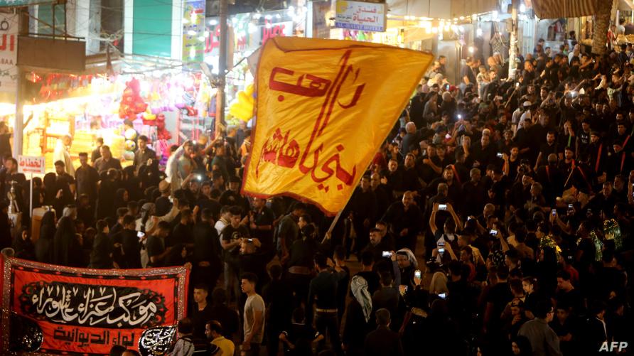 صورة أرشيفية لإحياء ذكرى وفاة الإمام الكاظم / ا ف ب