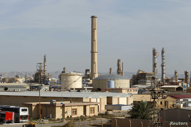 مصفاة بيجي النفطية في محافظة صلاح الدين